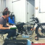 cam timing calculations for the velocette
