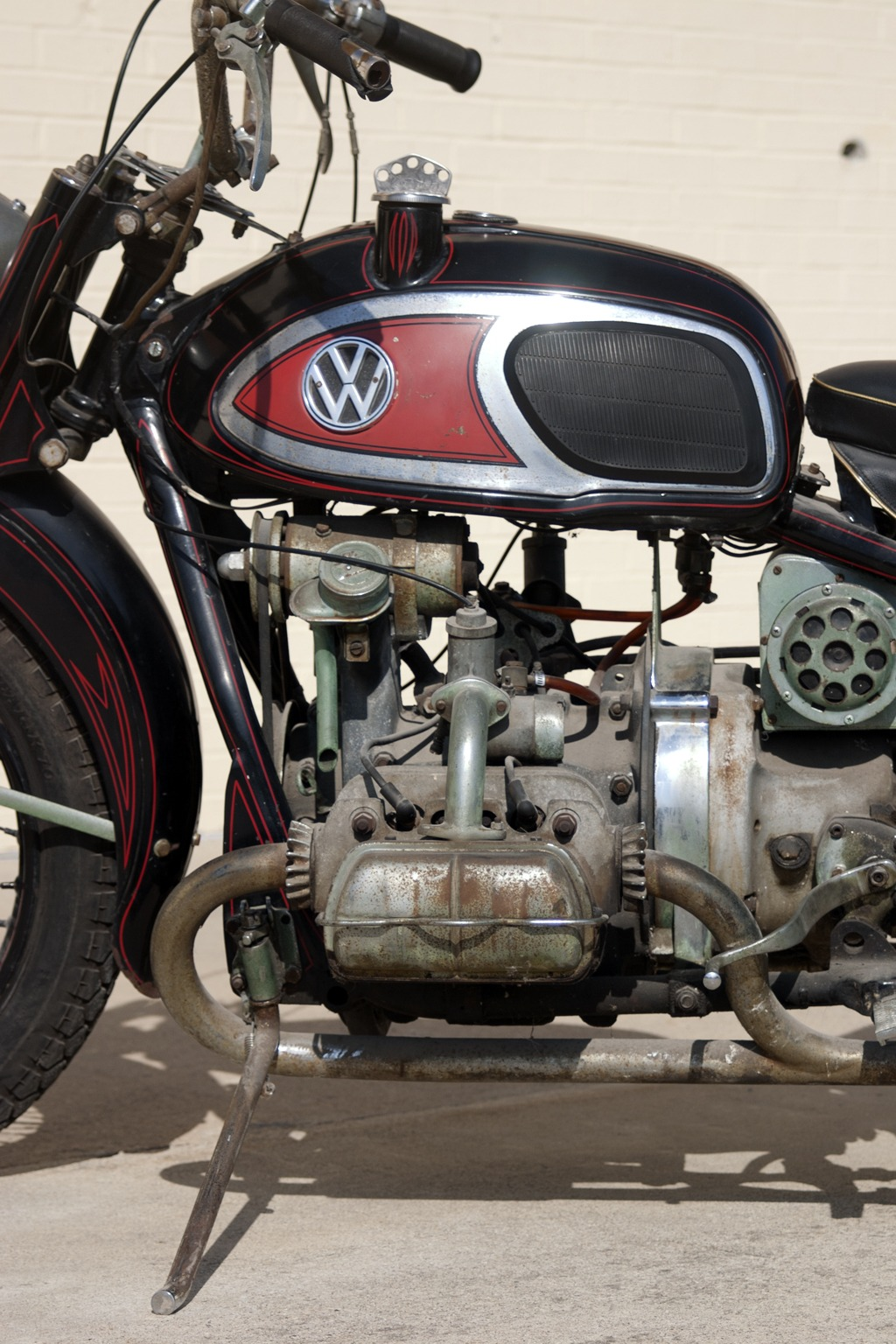American Pickers Vondutch Xavw Hits Museum National Motorcycle 1960 Vw Beetle Horn Wiring After