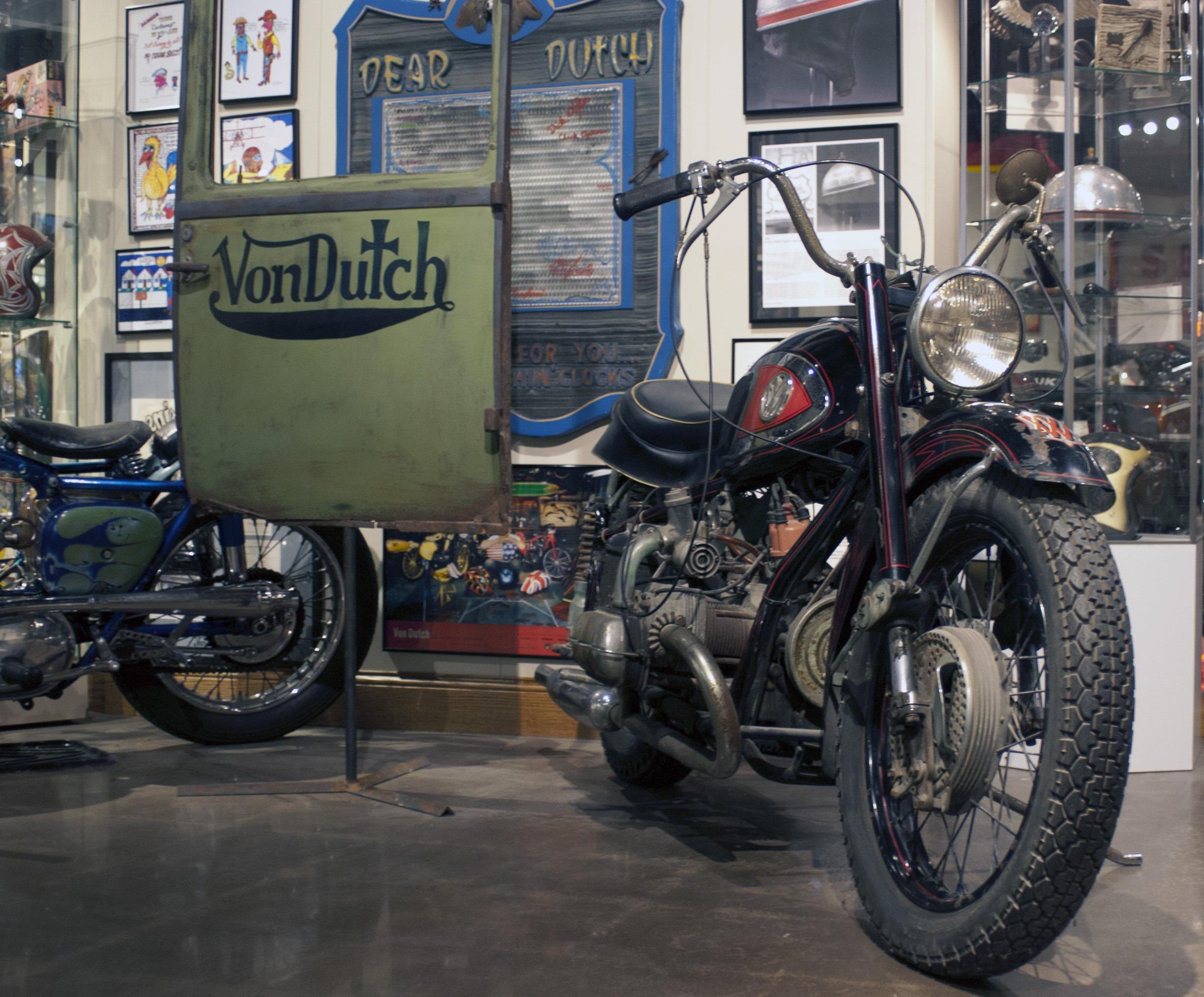 American Pickers Vondutch Xavw Hits Museum National Motorcycle