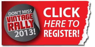Register for the 2013 Vintage Rally