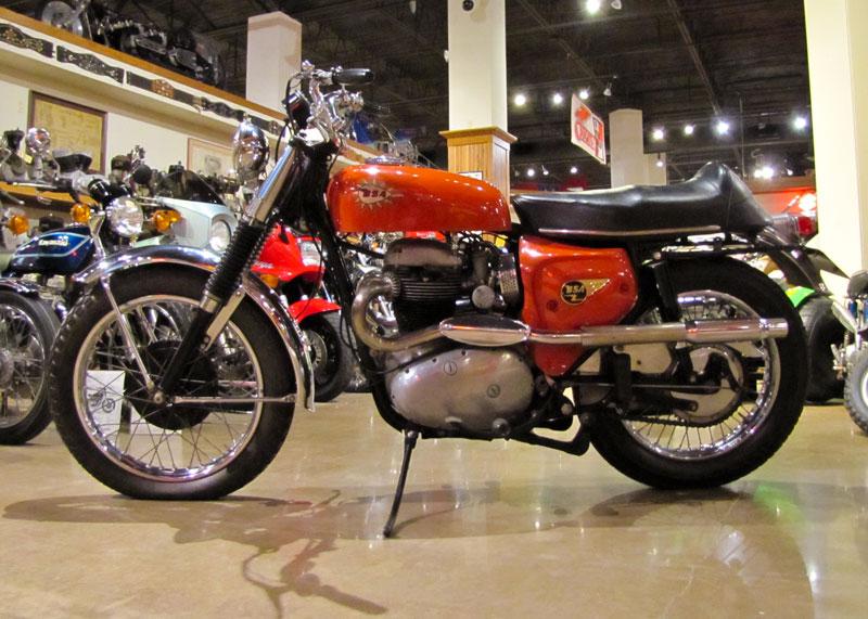 1966 BSA A65 Hornet National Motorcycle Museum 06