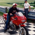 Larry Klein photo by American Historic Racing Motorcycle Association