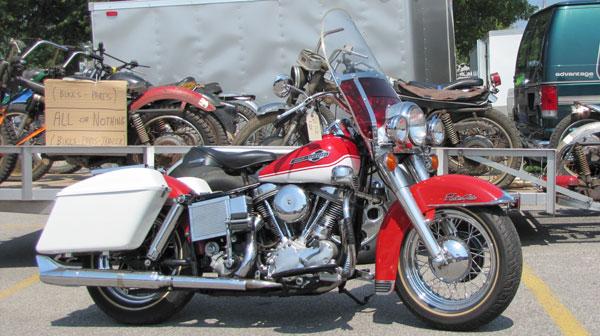 vintage motorcycle meet Davenport