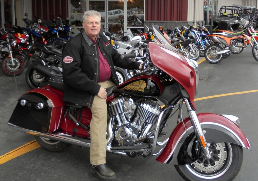 2015 Annual Fundraiser Motorcycle Winner