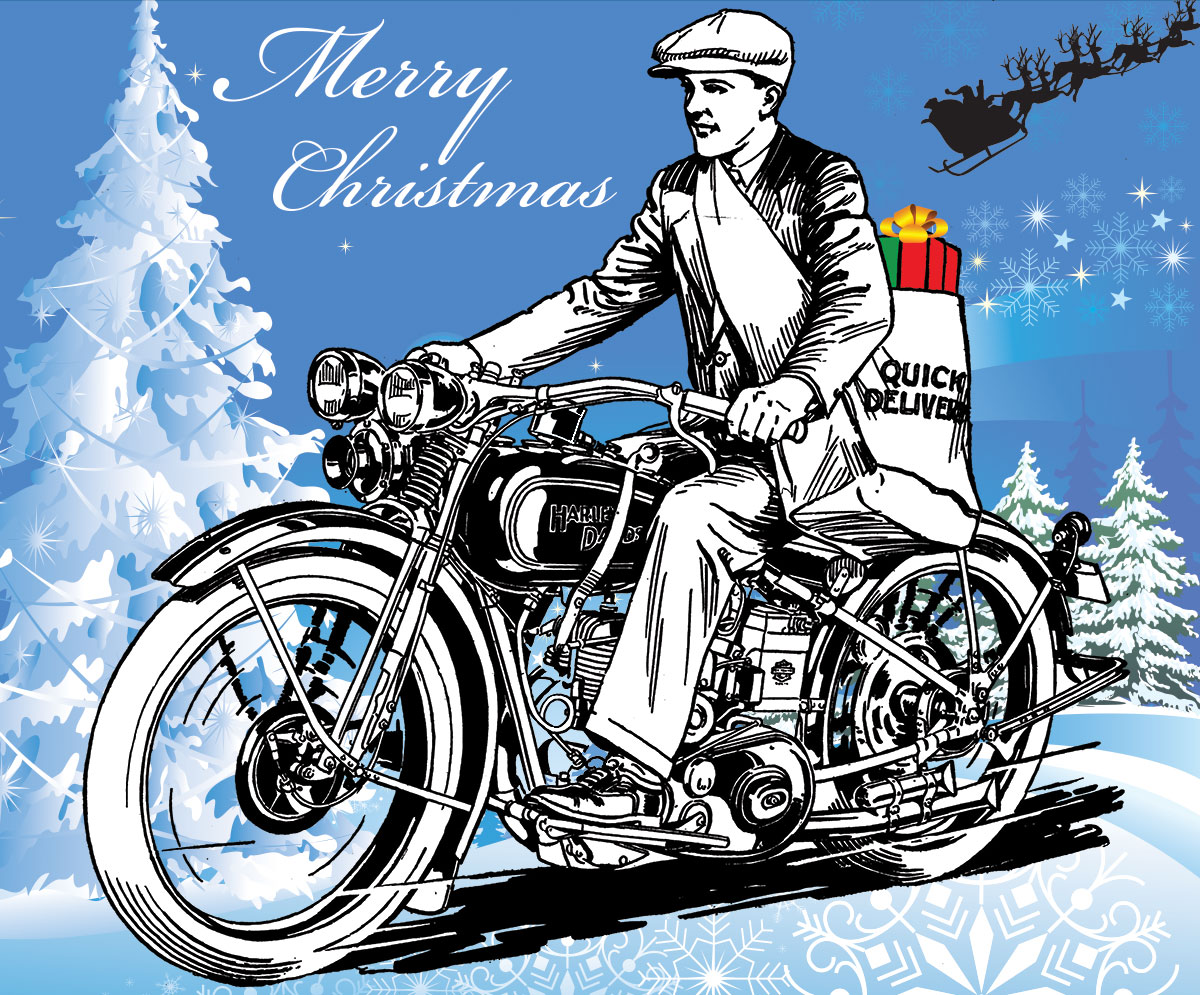 Merry Christmas from the National Motorcycle Museum