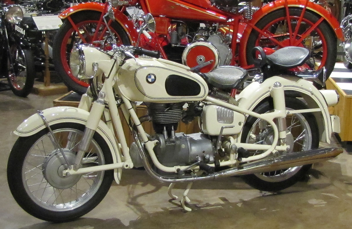 1956 Bmw R26 187 National Motorcycle Museum