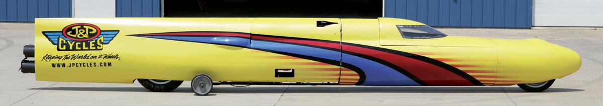 J&P Cycles Streamliner