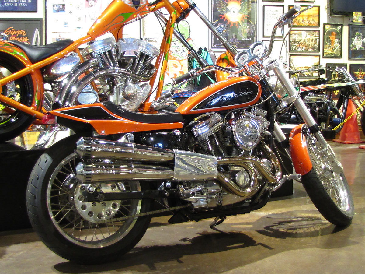 1990 Harley Davidson Sportster Custom Hot Stuff By Jesse James