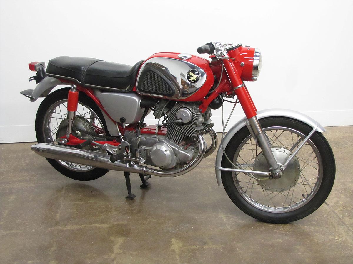 1965 Honda Super Hawk_1