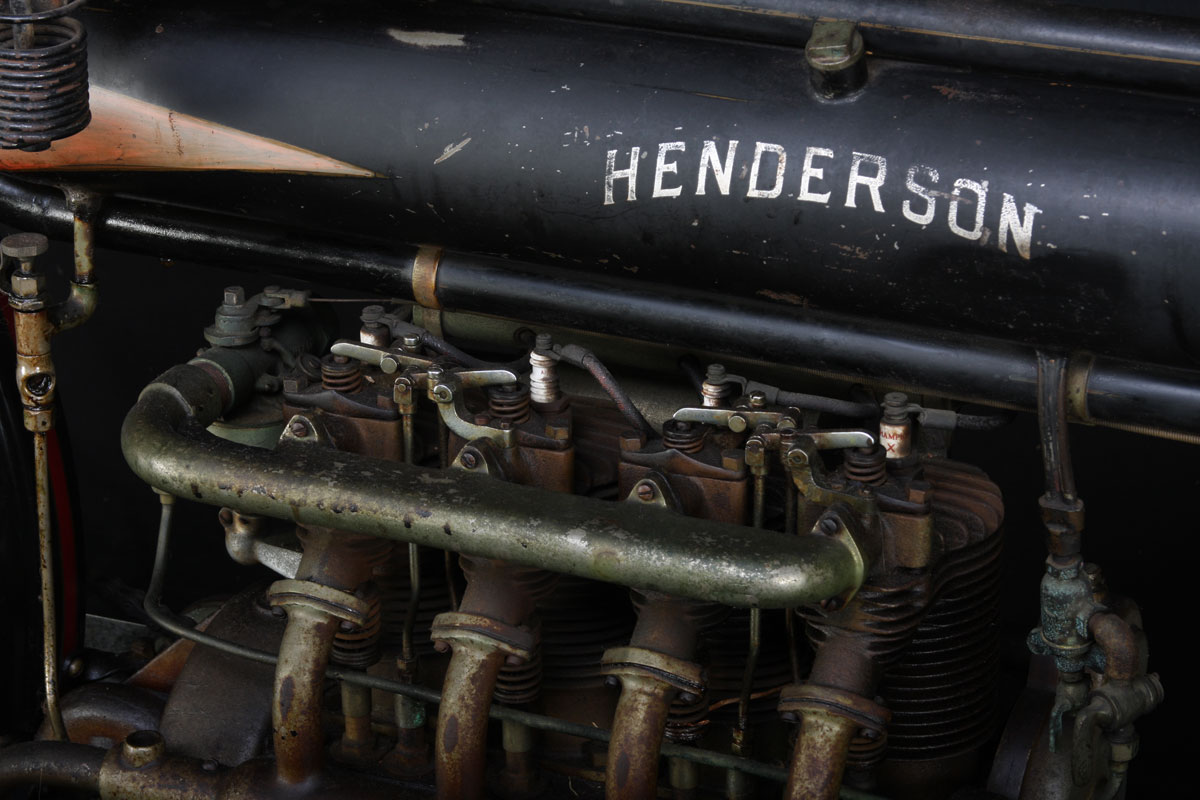 1912 Henderson Four » National Motorcycle Museum