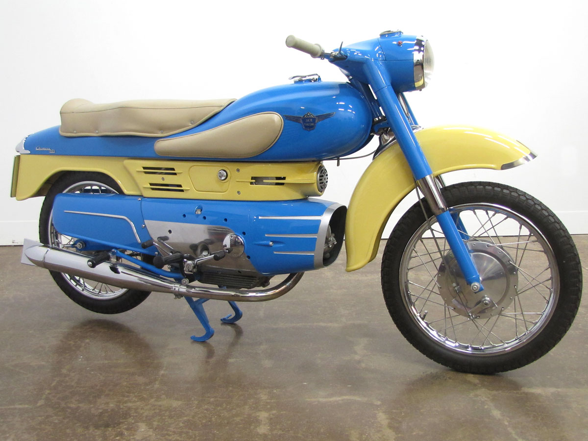 1957 Aermacchi Chimera 175 - National Motorcycle Museum