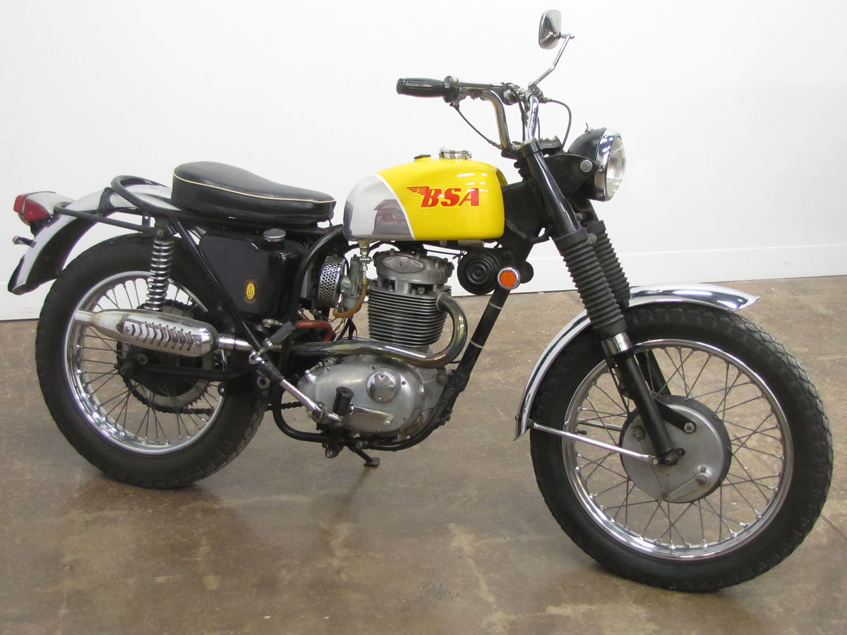 1969 bsa b44 victor special national motorcycle museum rh nationalmcmuseum org BSA Hornet BSA Gold Star