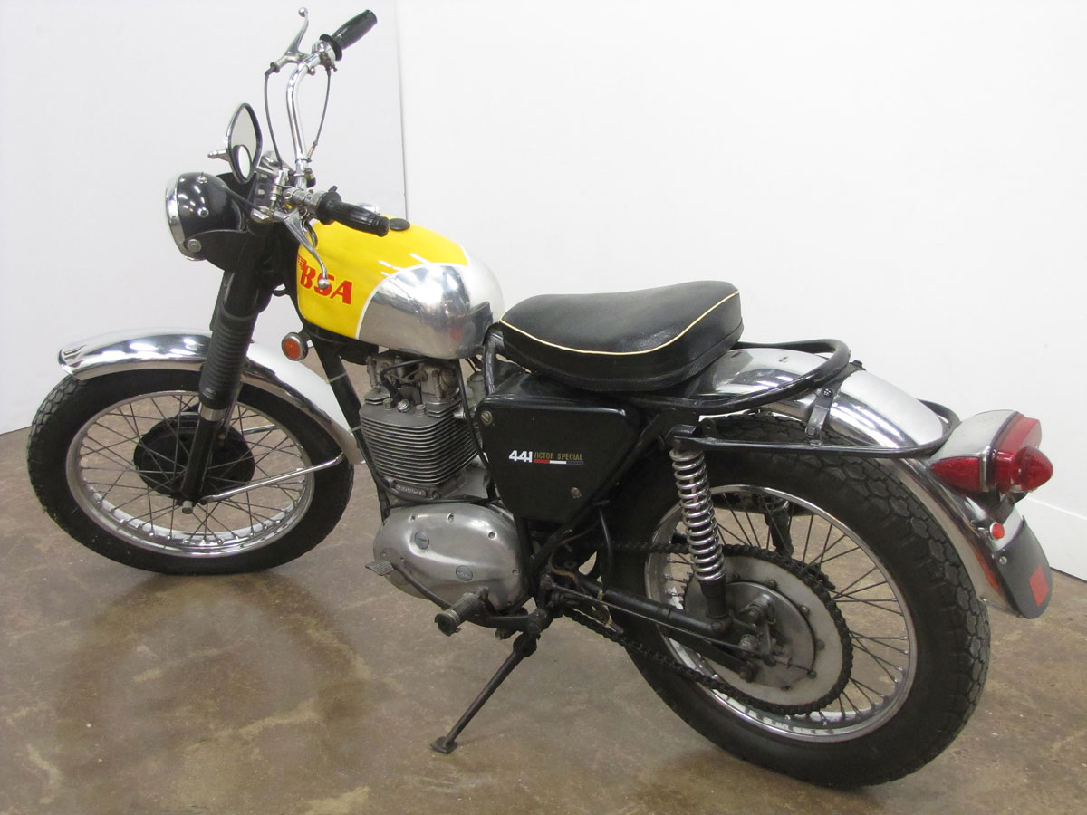 1969 bsa b44 victor special national motorcycle museum rh nationalmcmuseum org BSA Thunderbolt BSA Lightning