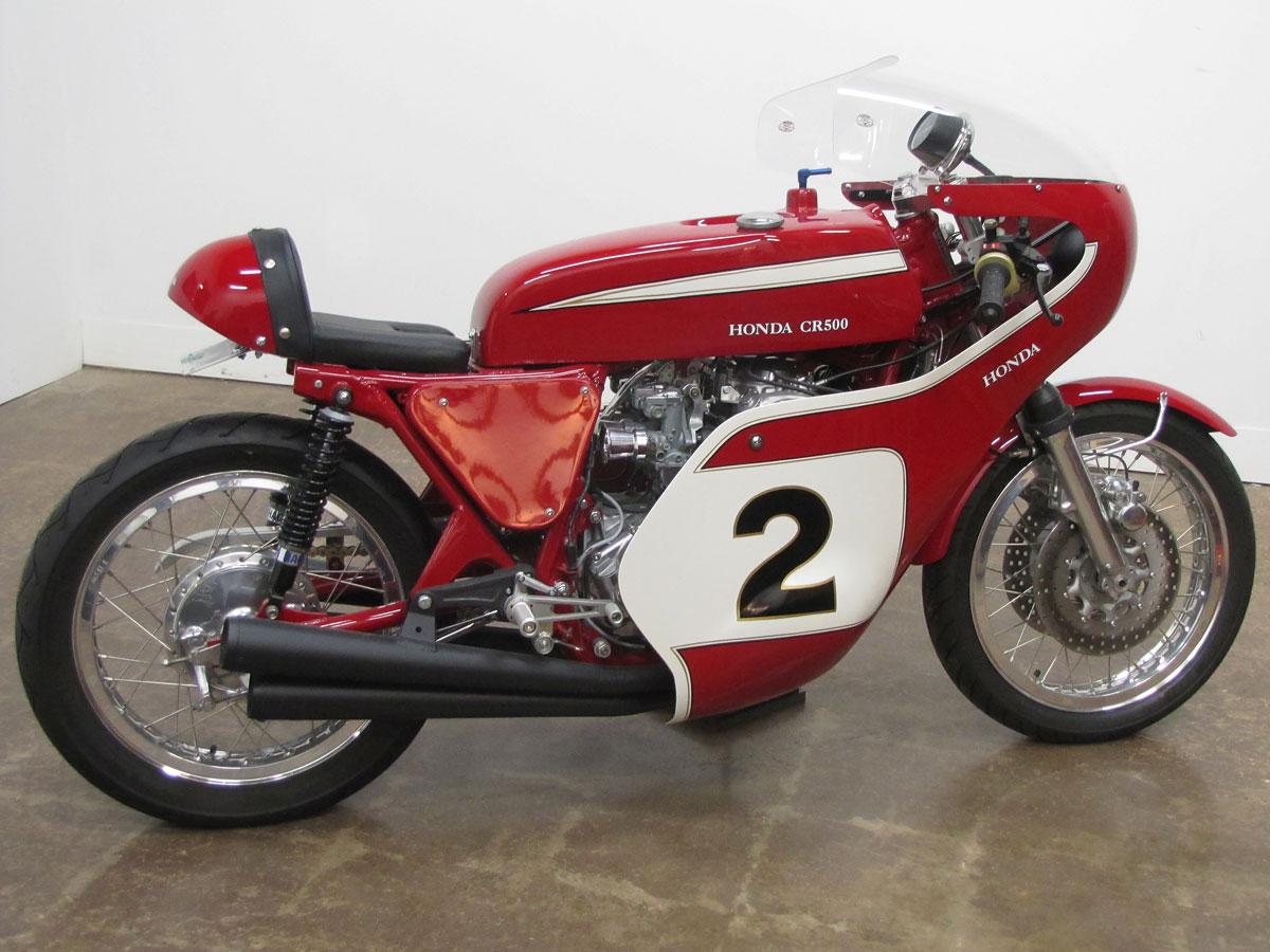1972 honda cb500 road racer designed after dick mann s 1970 honda racer national motorcycle museum. Black Bedroom Furniture Sets. Home Design Ideas