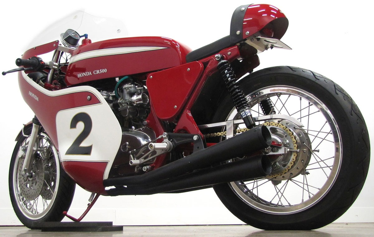 1972 honda cb500 road racer designed after dick mann s. Black Bedroom Furniture Sets. Home Design Ideas