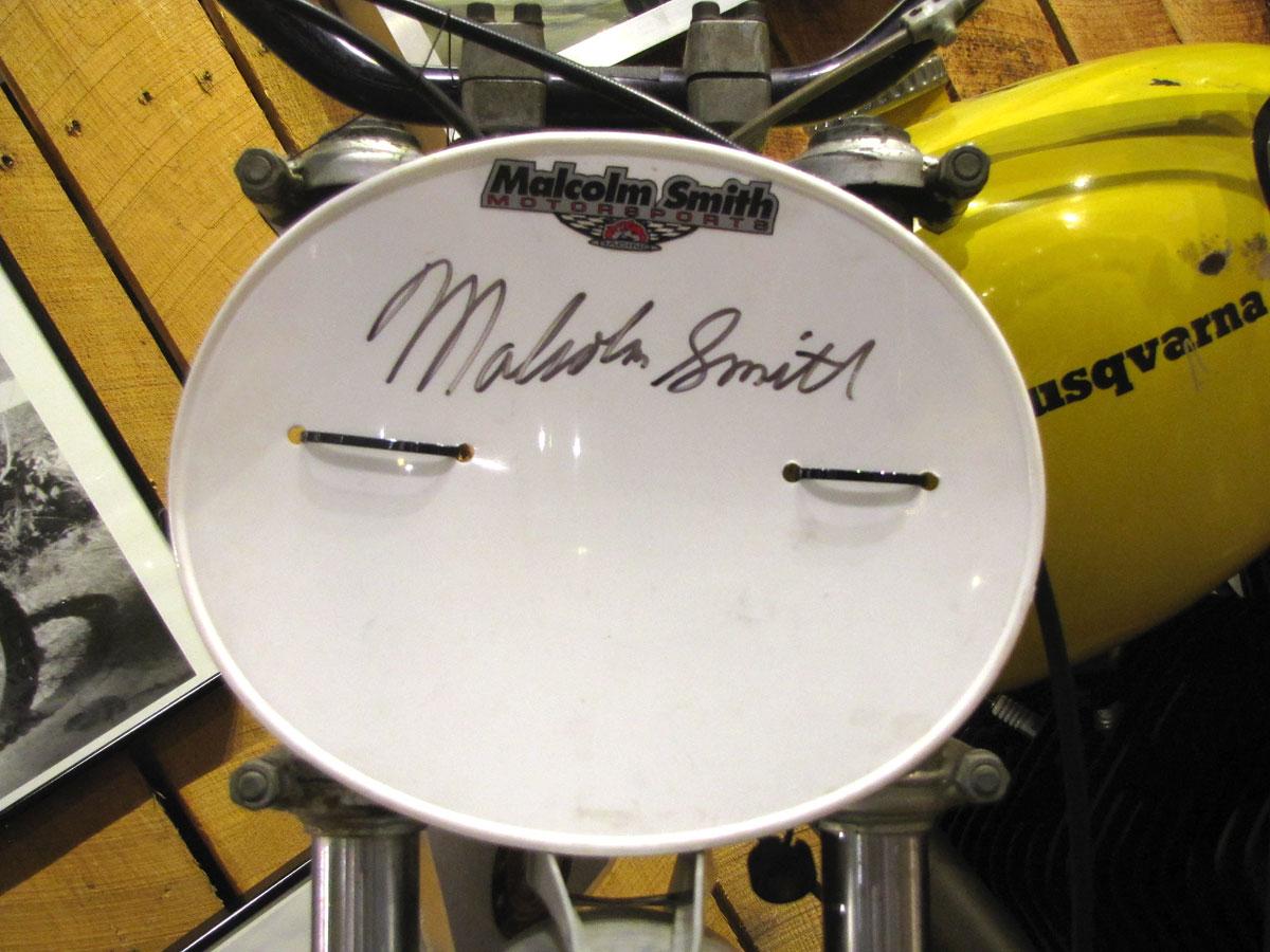 Malcolm Smith's 1973-husqvarna