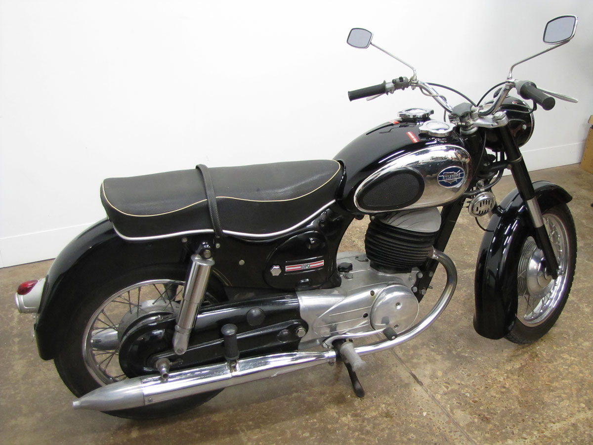 "1965 Allstate SGS 250 ""Twingle"" - National Motorcycle Museum"