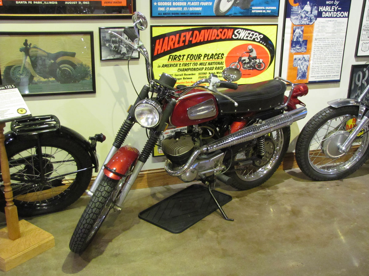 1970 Harley-Davidson Rapido ML-125S - National Motorcycle Museum