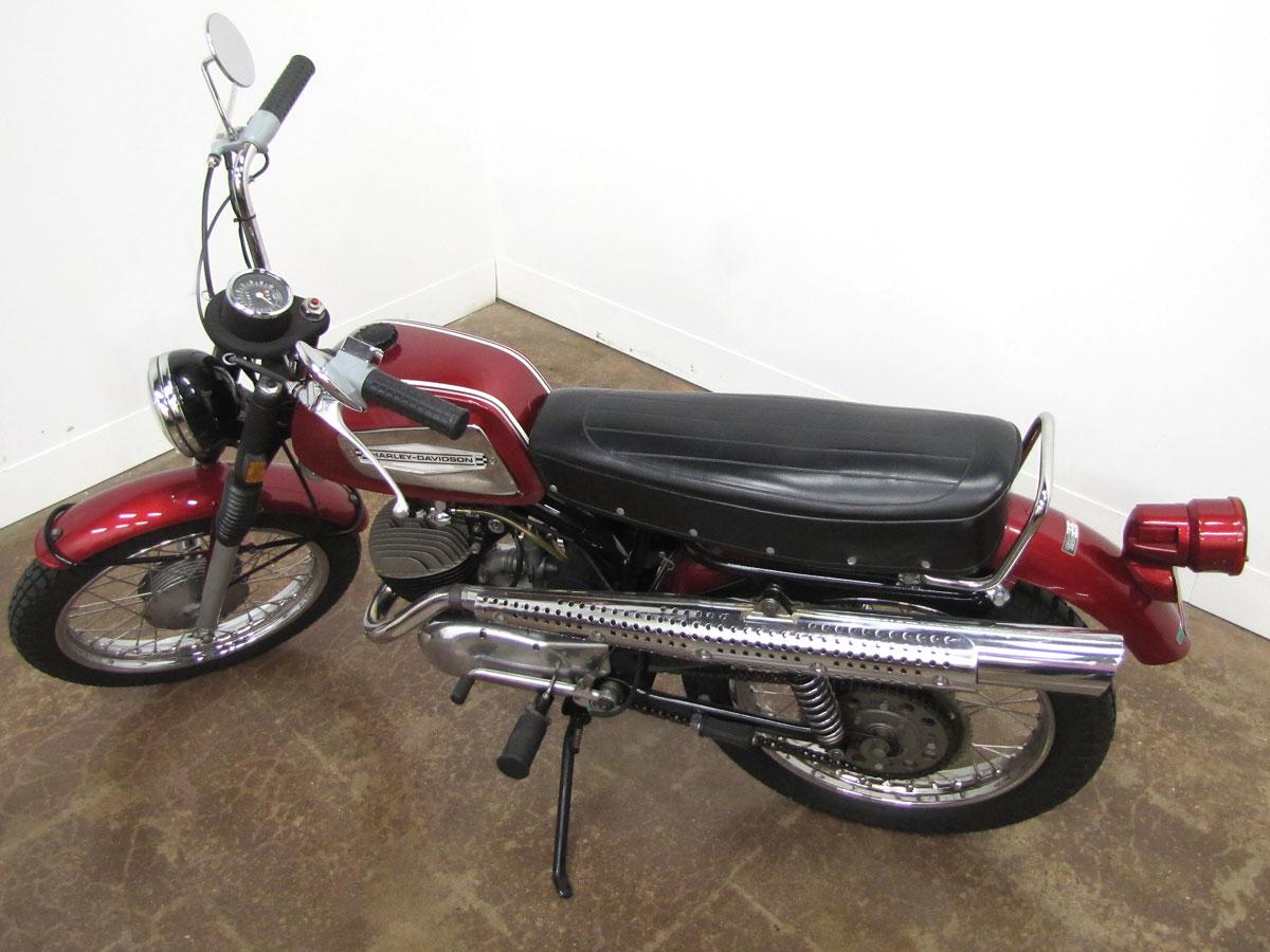 1970 Harley-Davidson Rapido ML-125S » National Motorcycle Museum