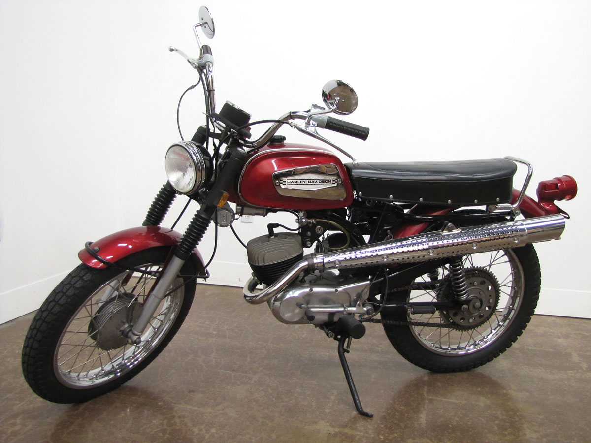 1970 Harley-Davidson Rapido ML-125S » National Motorcycle Museum