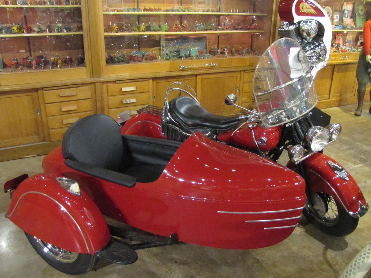 1946 Indian Chief with Indian Sidecar » National Motorcycle