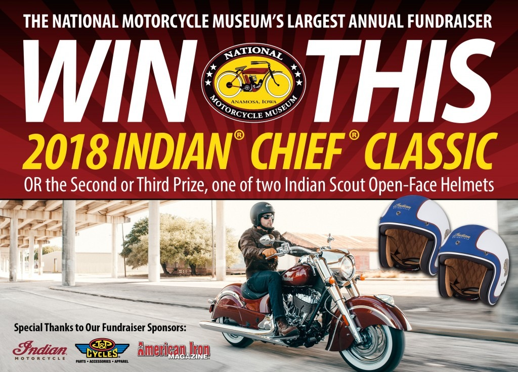 Win this 2018 Indian Motorcycle