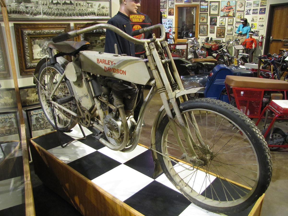 1909 Harley-Davidson Single Police Motorcycle » National