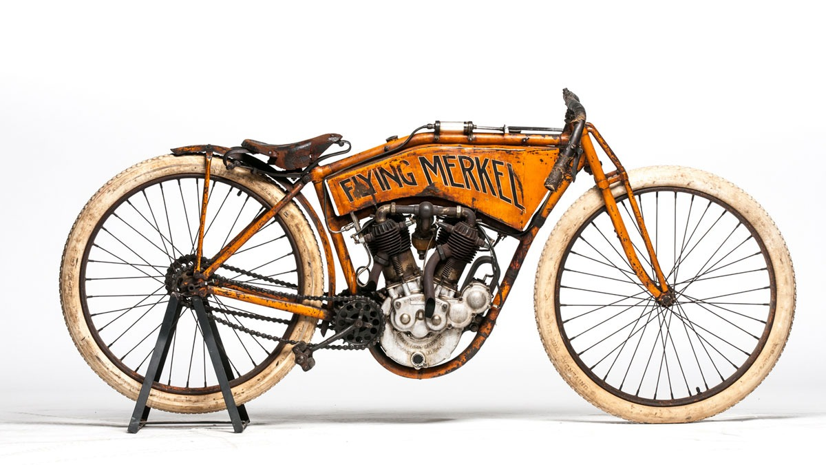 1911 Flying Merkel Twin Board Track Racer