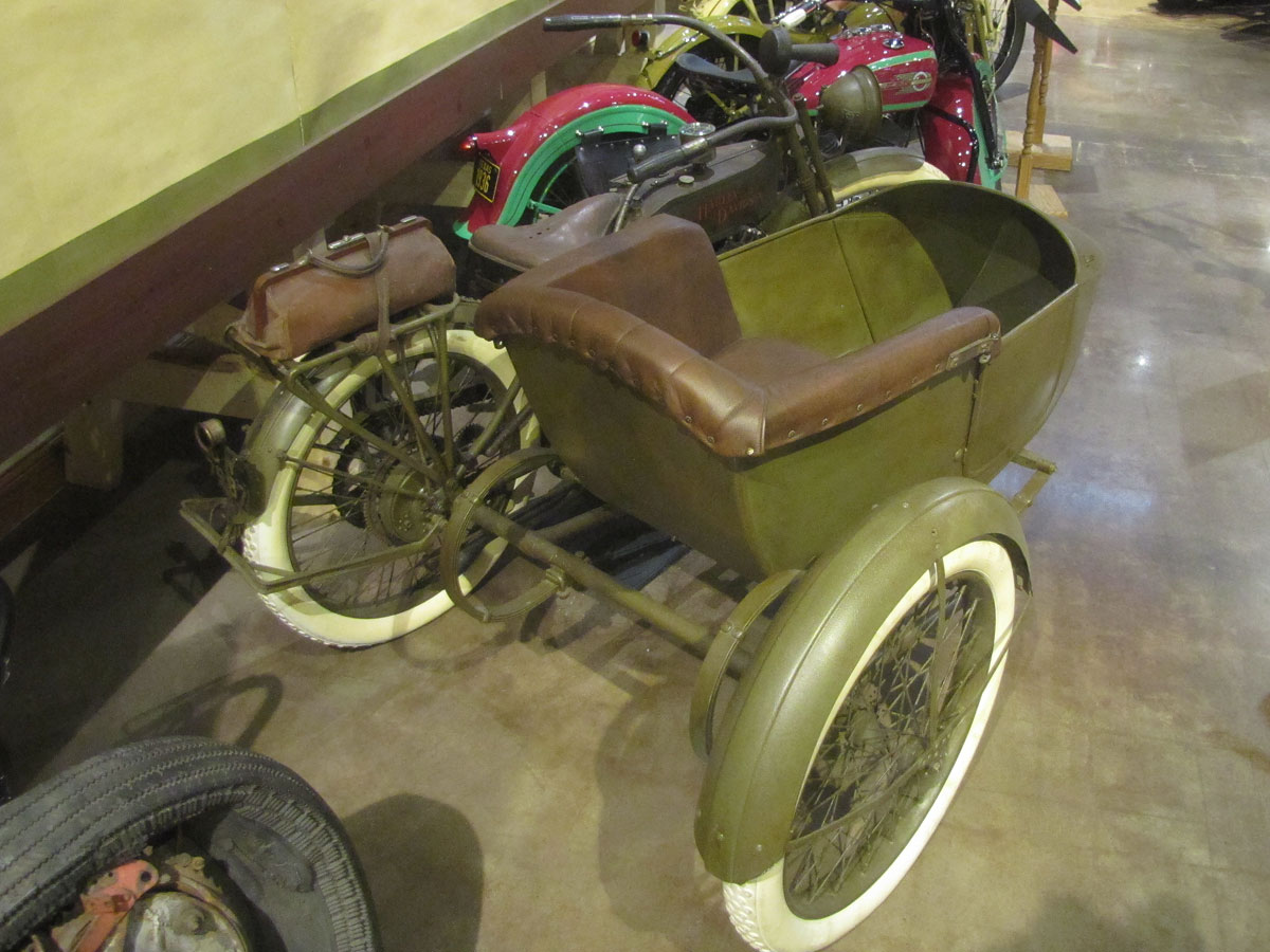 1915 Harley-Davidson Twin with Factory Sidecar - National