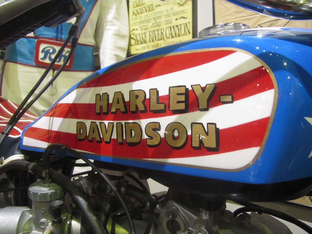 Harley Davidson: 1972 Harley-Davidson XR750: Evel Knievel Stunt Bike