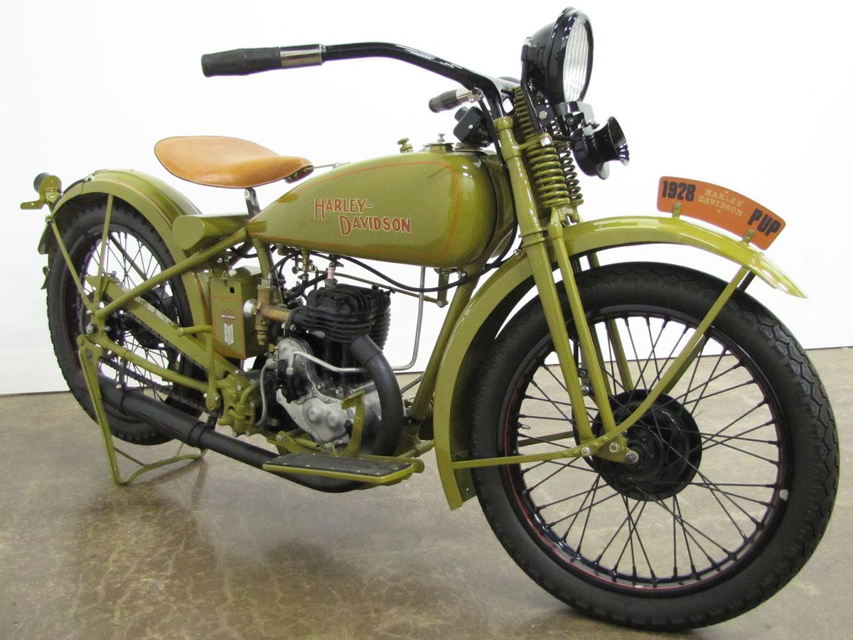 1928 Harley Davidson Model 28b National Motorcycle Museum