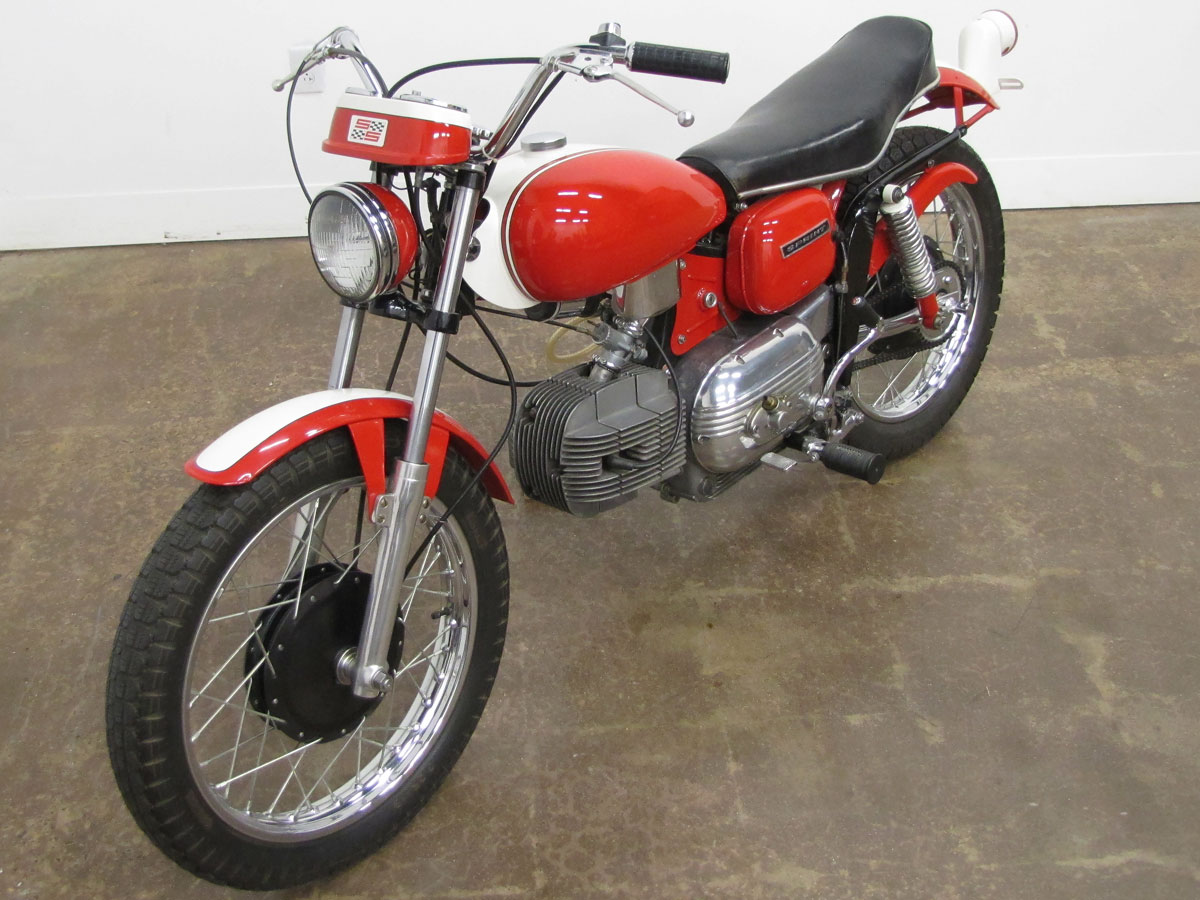 Frank Fritz 1967 Harley-Davidson Sprint SS - National