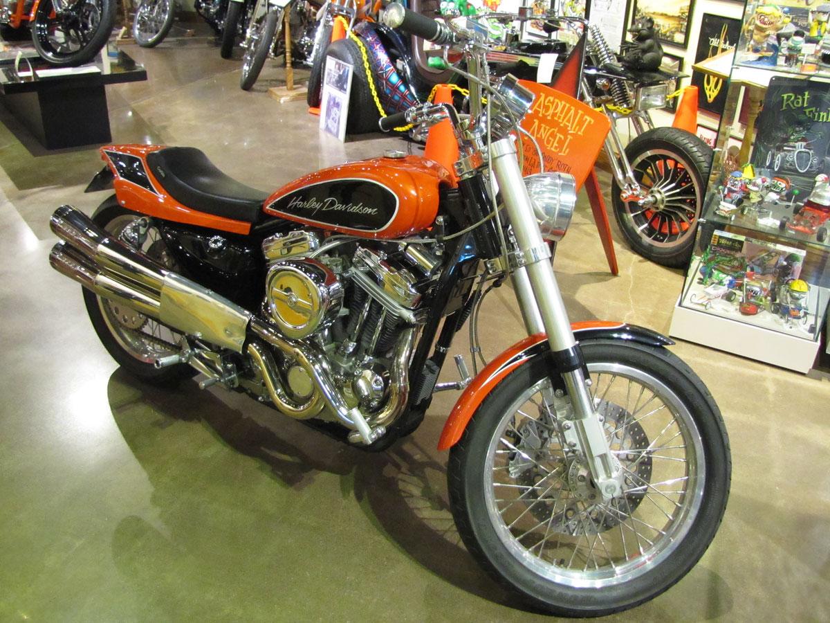 1990 Harley Davidson Sportster Custom HOT STUFF By Jesse James