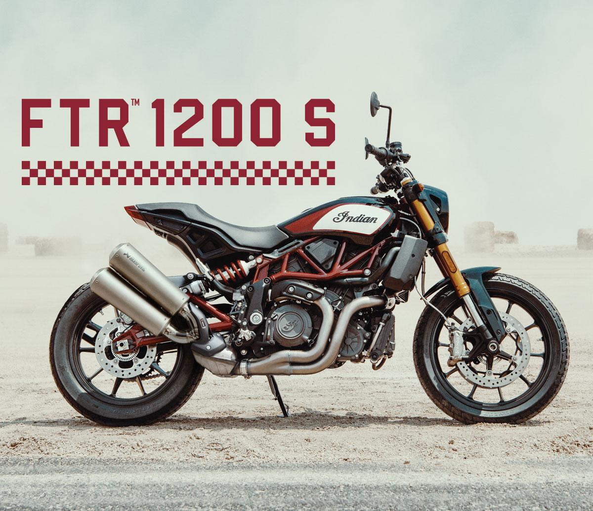 2019 Indian FTR1200S