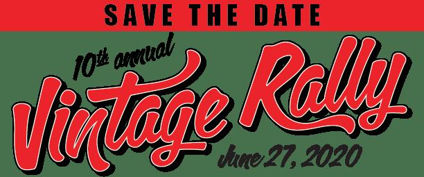 Vintage Rally June 27, 2020