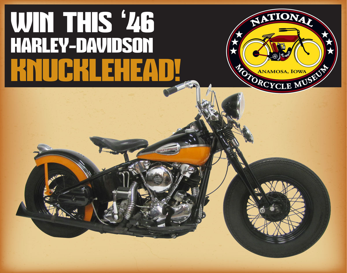 Win a '46 Knucklehead